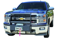 Image 33736B Winch Grille Guard - Black