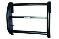 Image 38014FW - Push Bumper - Center Section Only - Straight Uprights - Black