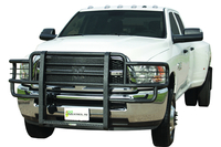 Image 44669 Rancher Grille Guard - Black - UA Finish