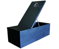 Image 50009 - Single Level Storage Box - Measures (38x16x12) - Black