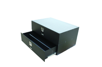 Image 50013 - Dual Drawer Storage Box - Measures (48x37.5x27.5) - Black