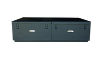 Image 50026 - Dual Drawer Storage Box - Measures (48x33.5x12) - Black