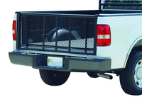 Image 6636B - Painted Straight Tailgate - Black