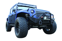 Image 94102 - Jeep Front Bumper - Winch Ready - Black