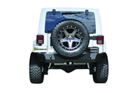 Image 94201 - Jeep Rear Bumper - With Swing Arm - Black