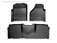 Image 440041-440123 -Floor Mat Set - FloorLiner - DigitalFit - Black