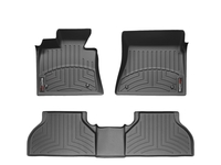 Image 44003-1-2 -Floor Mat Set - FloorLiner - DigitalFit - Black