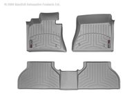 Image 46573-1-2 -Floor Mat Set - FloorLiner - DigitalFit - Gray