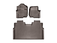 Image 47573-1-2 -Floor Mat Set - FloorLiner - DigitalFit - Cocoa