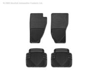 Image W10-W50 -Floor Mat Set - All Weather Floor Mats - Black