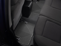 Image W100 -Floor Mat Set - All Weather Floor Mats - Black