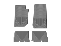 Image W321GR-W322GR -Floor Mat Set - All Weather Floor Mats - Gray