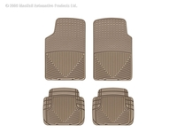 Image W3TN-W50TN -Floor Mat Set - All Weather Floor Mats - Tan