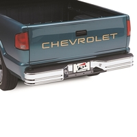Image 21002 - SureStep Universal Style Rear Bumper - Bumper Replacements - Chrome