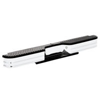 Image 21007 - SureStep Deluxe XLT OE Style Rear Bumper - Bumper Replacements - Chrome