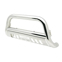 Image 31-5640 - E-Series Bull Bar - Bull Bar/Light Bar -  Polished Stainless Steel