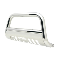 Image 31-5960 - E-Series Bull Bar - Bull Bar/Light Bar -  Polished Stainless Steel