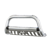 Image 33-1990 - Ultimate Bull Bar - Bull Bar/Light Bar -  Chrome Stainless Steel