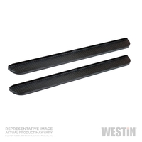 Image 57-53575 - HDX Running Board - Steps -  Textured Black Powdercoat